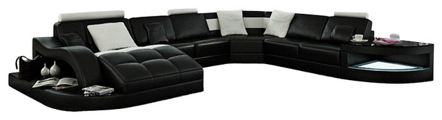 Large Leather Sectional Couch | Home design ideas
