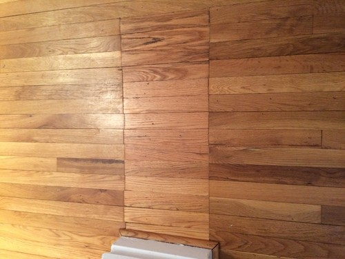 Patched Red Oak Does Not Match Original Floor