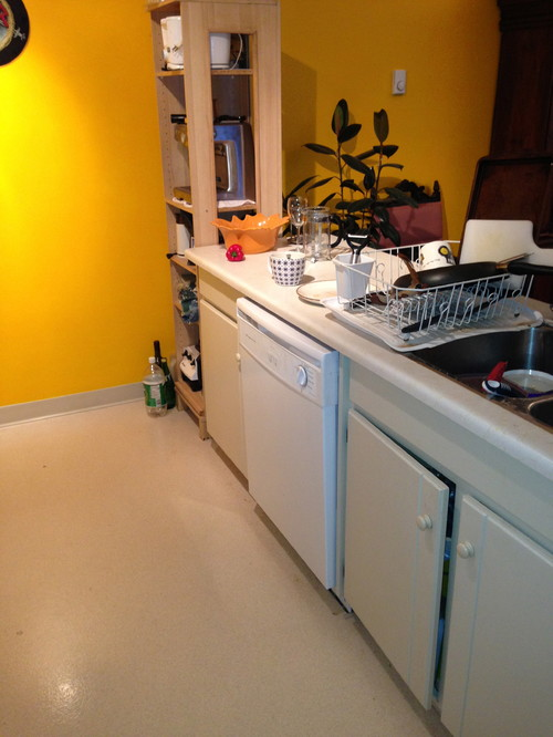 Small Kitchen Remodel Goal Of More Counter Space More
