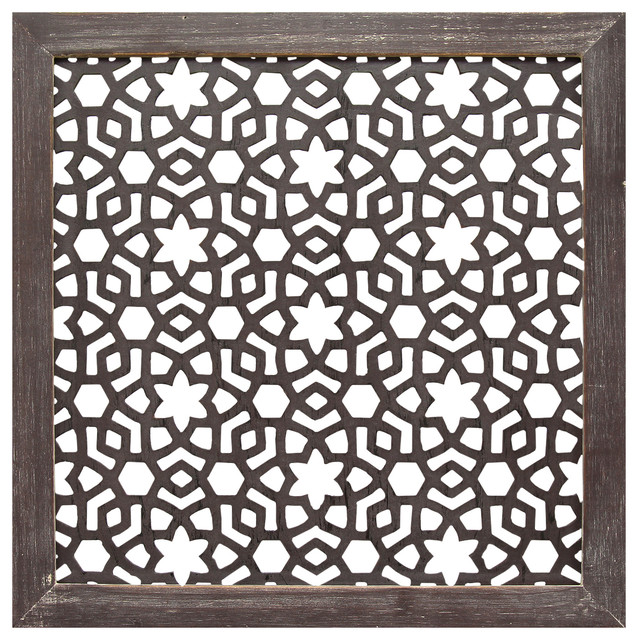 Stratton Home Decor Framed Laser-Cut Wall Decor.