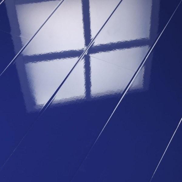 Supergloss Planks Set Of 8 Blue Night Contemporary Laminate Flooring