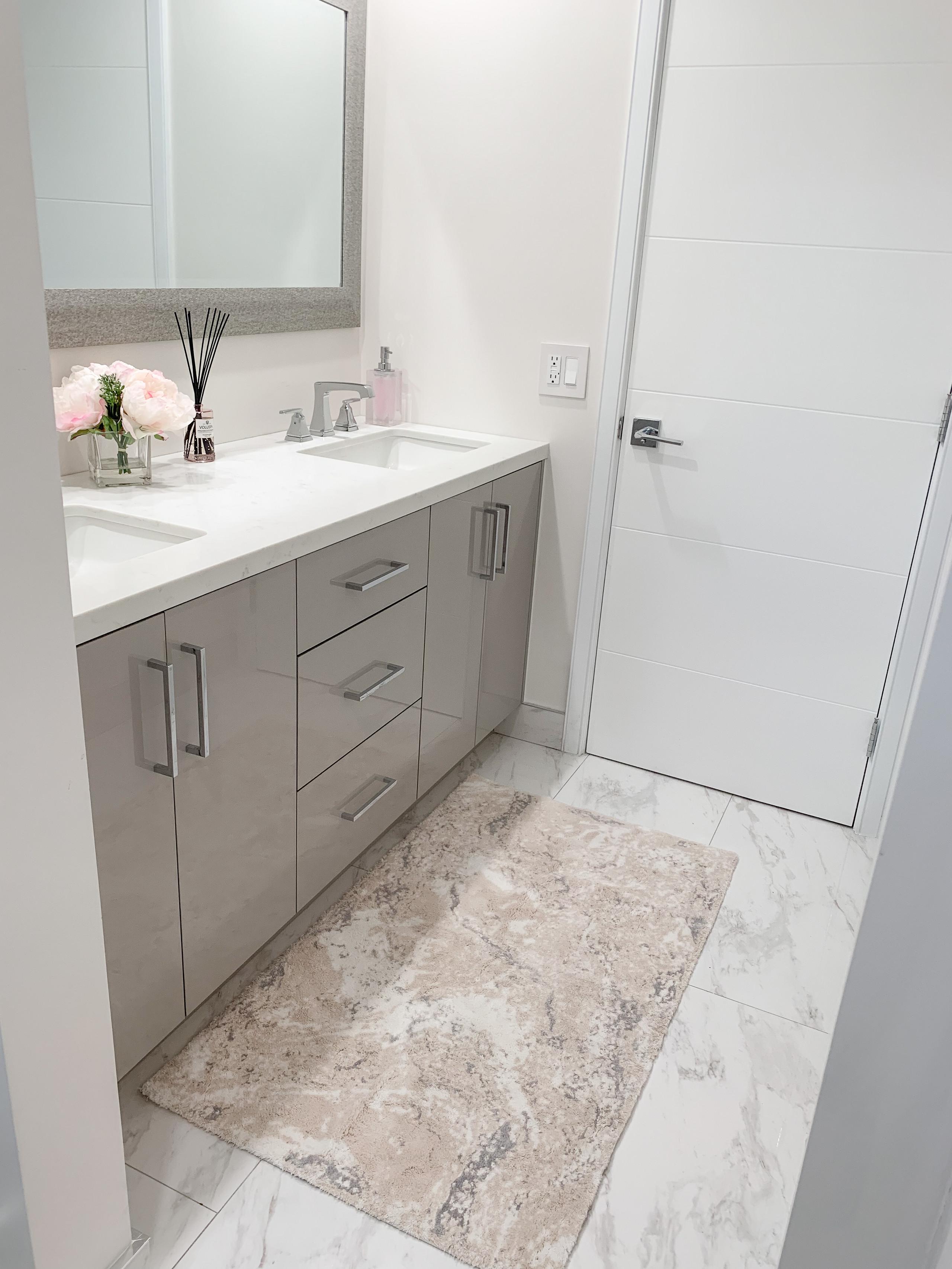 Transitional Shared Bathroom
