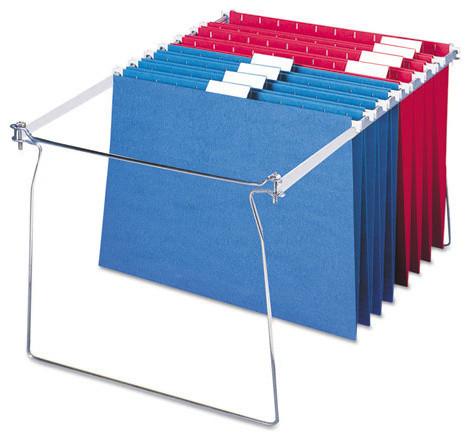 """Hanging Folder Frames, Letter Size, 23-27"""" Long, Steel, 2 ..."""