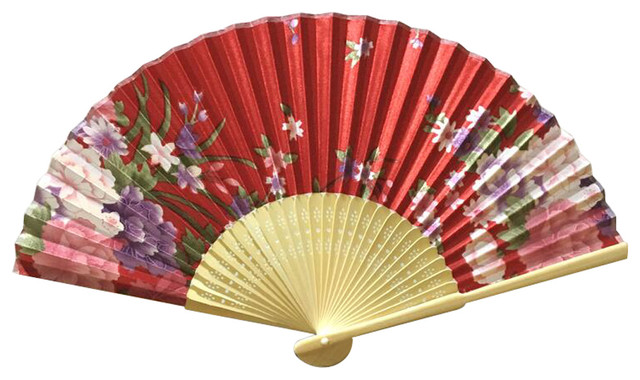 Chinese Retro Folding Fans Cosplay Handheld Fan Best Gift # 08 ...