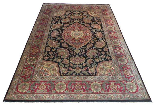 6x9 Agra Rug Traditional Area Rugs By Oriental Rug