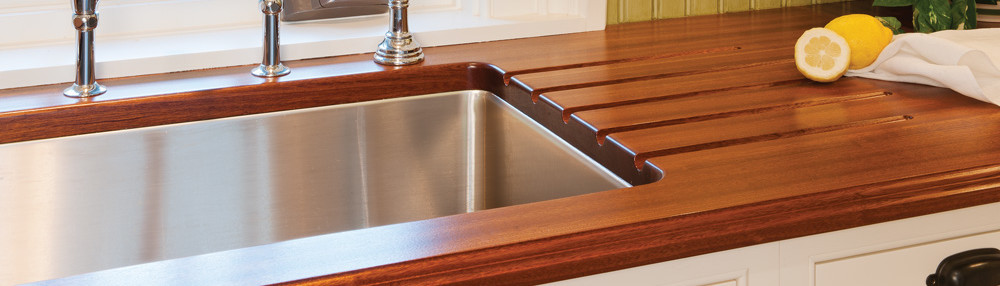 Delightful Black Walnut Wood Countertops