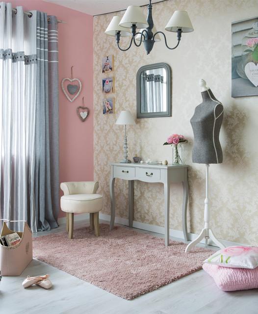 Chambre Shabby Chic - Shabby-Chic-Style - Schlafzimmer - Lille - von ...