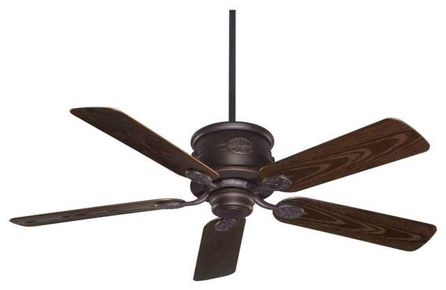 Savoy House Capri Outdoor Ceiling Fan, English Bronze.