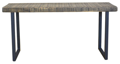 Salvaged Reclaimed Urban Wood Bench Reclaimed Farm Wood, 12x36x18, Antique Oak