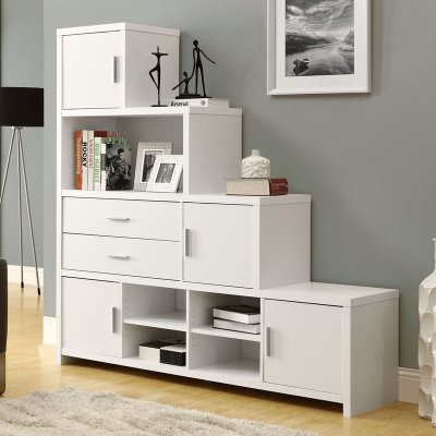 Monarch Hollow Core Left Or Right Facing Step Bookcase