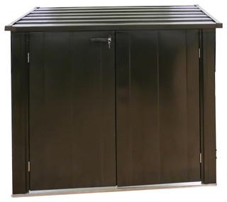 Onyx Locking Outdoor Storage Shed, 5'x3'