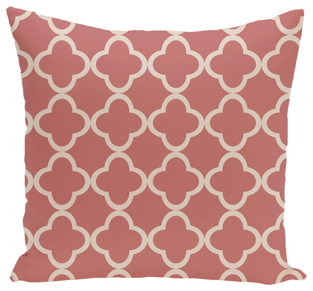 Geometric Decorative Floor Pillow - Mediterranean - Floor Pillows And Poufs - by E by Design