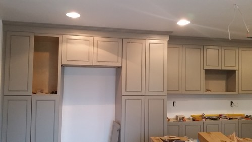 Lovely Crown Molding On Kitchen Cabinets