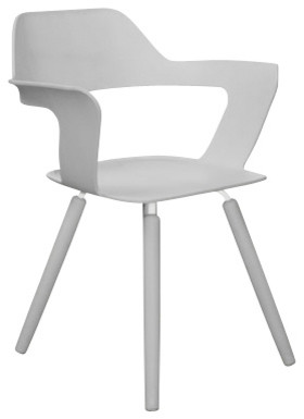 MUSE Chair, Silver by Radius Design