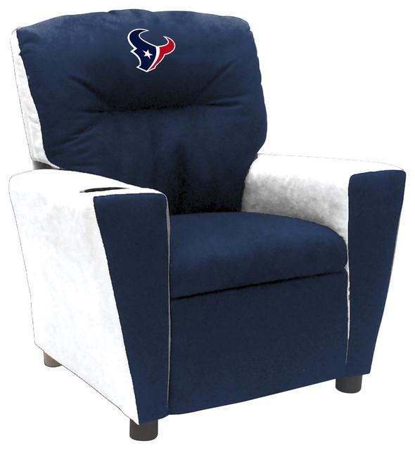 Houston Texans Kids Fan Favorite Recliner Contemporary