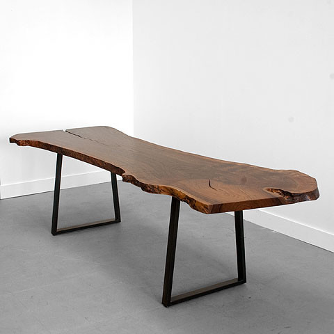 Trapped Base Table by Uhuru contemporary-dining-tables