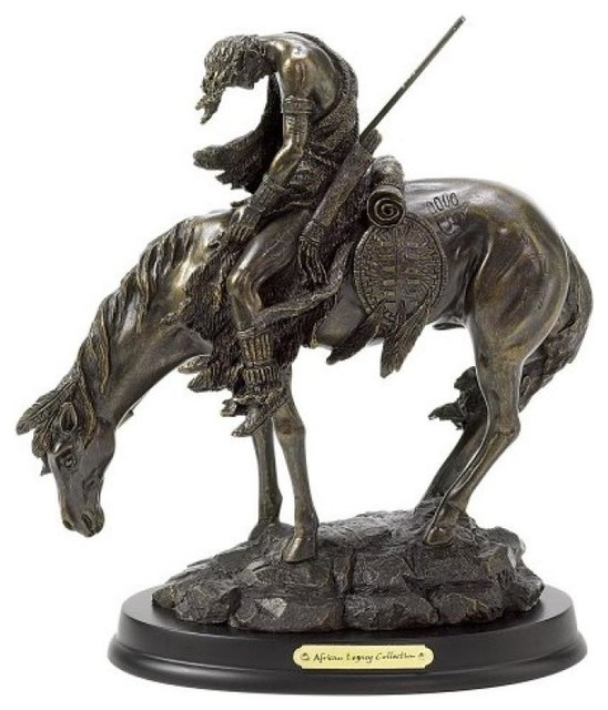 Koehler The End Of The Trail Horse Figurine.