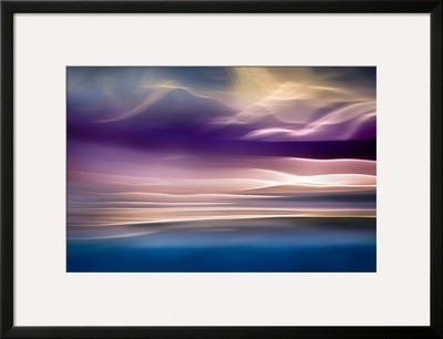 """""""i Want To See Mountains"""" Framed Photographic Print By Ursula Abresch."""