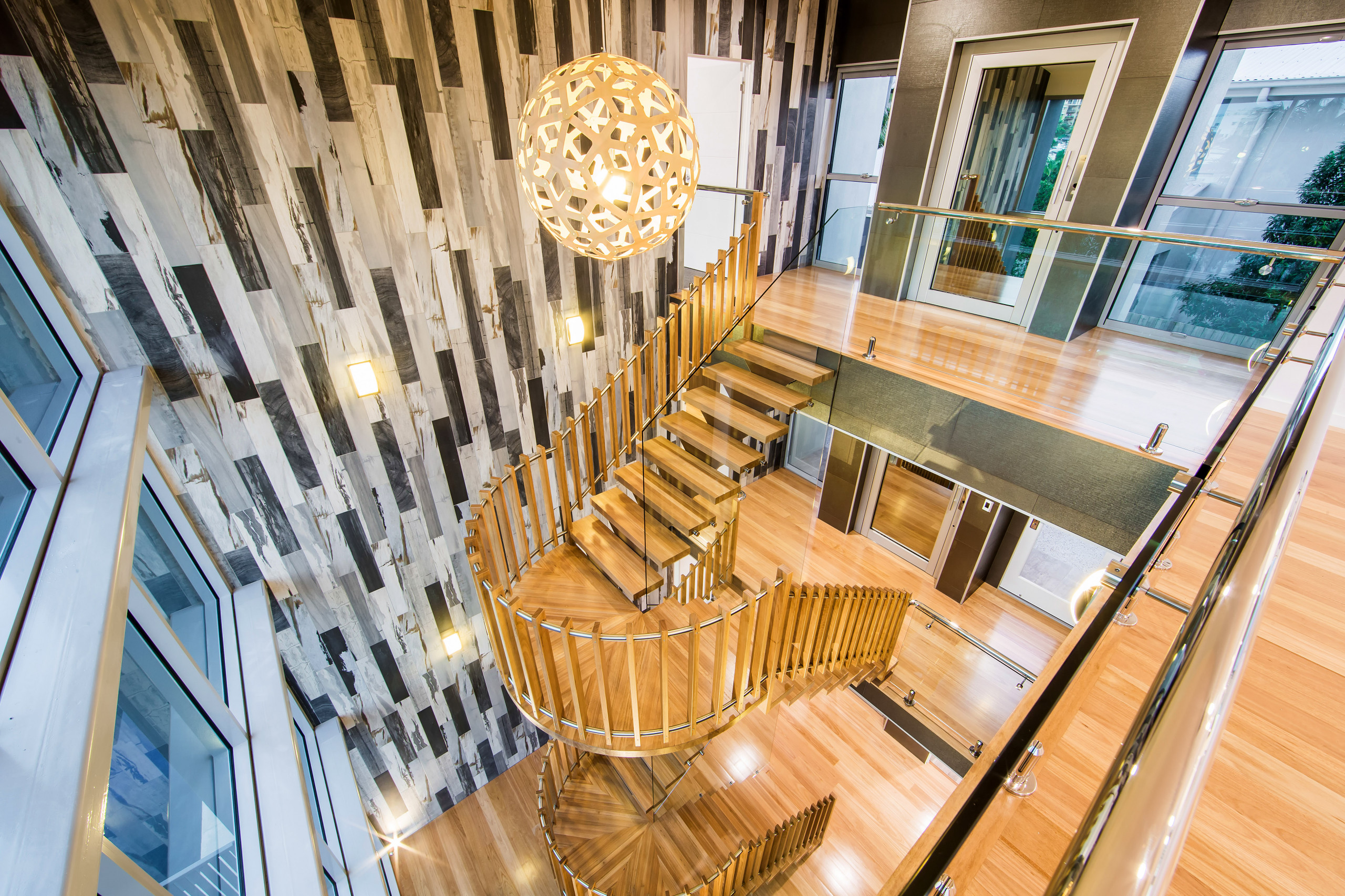 Feature Stair & Foyer