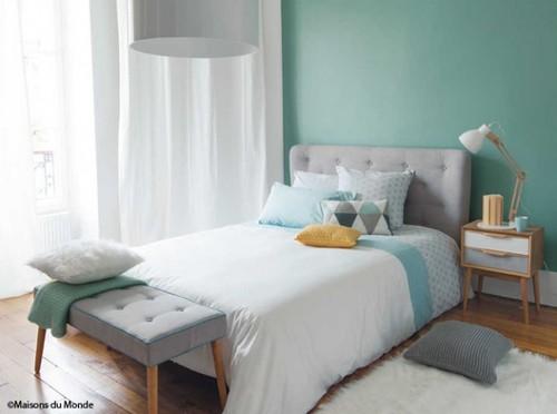 Pour un seul mur de couleur peindriez vous les plinthes - Chambre coloree adulte ...