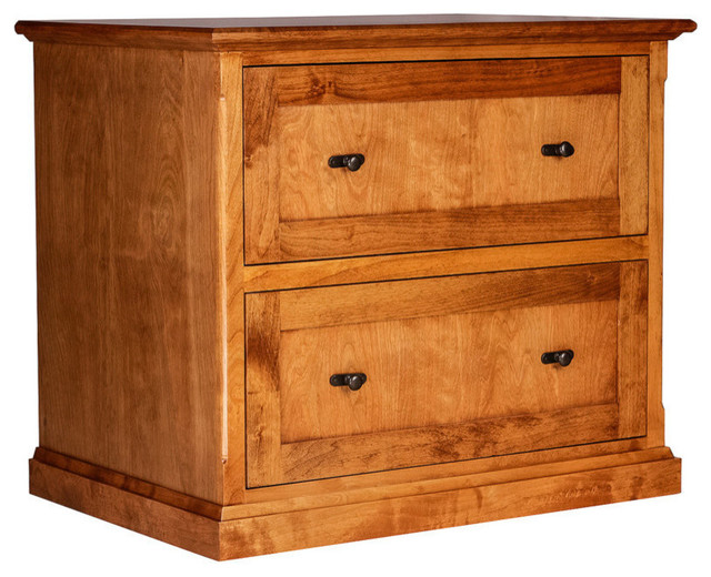 Forest Designs Mission Alder Lateral File - Traditional - Filing Cabinets - by Forest Designs ...