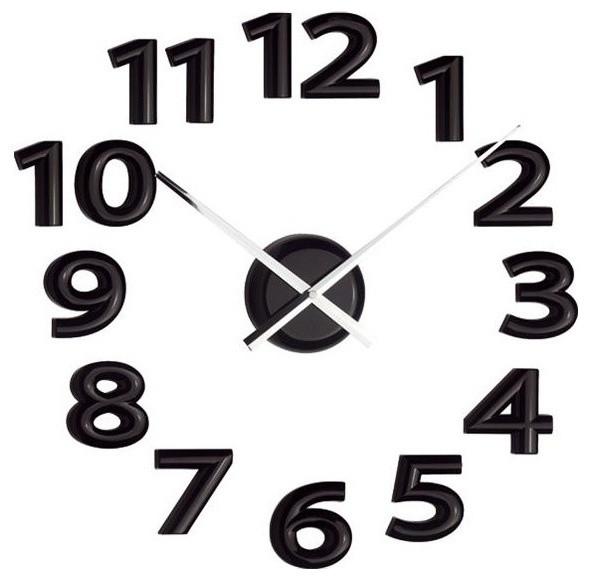 Balvi Mega Clock, Black