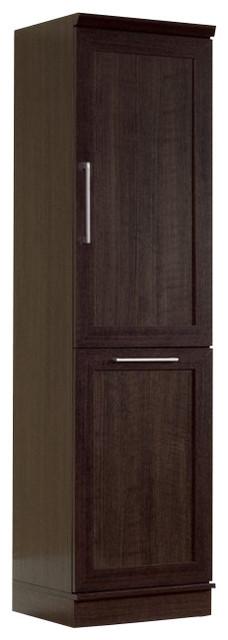 Sauder Homeplus Storage Cabinet In Dakota Oak.