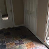 Townhome Flooring Installation, Countertop Refinishing & Deck Repair in Harding,