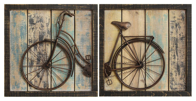 2-Piece Bicycle Wall Decor Set by Stratton Home Decor