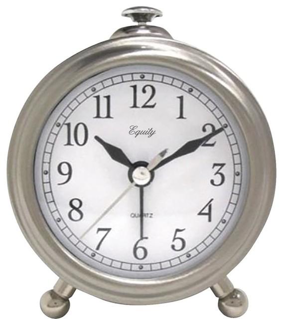 Lacrosse Technology Quartz Metal Alarm Clock 25655.