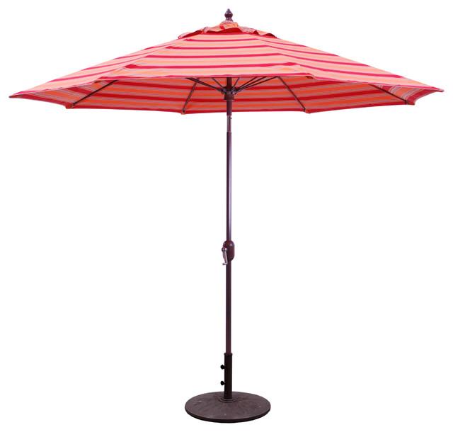 9 Patio Umbrella With Manual Tilt And Crank Lift Bravada