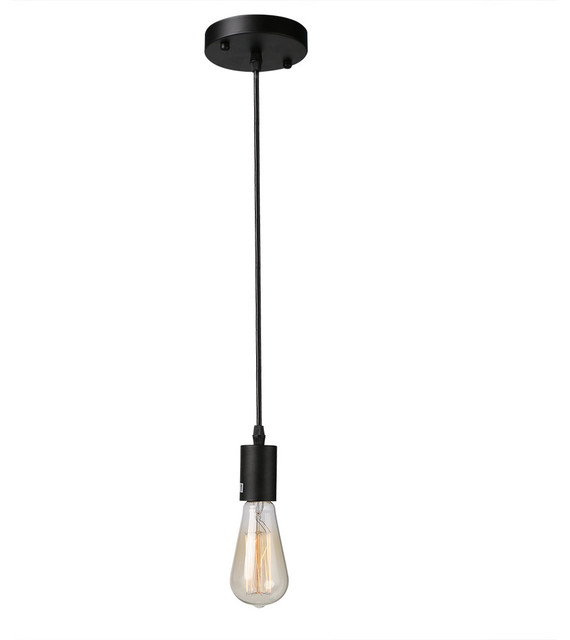 pendant lighting edison. 1light vintagestyle edison hanging socket pendant light fixture industrialpendant lighting n