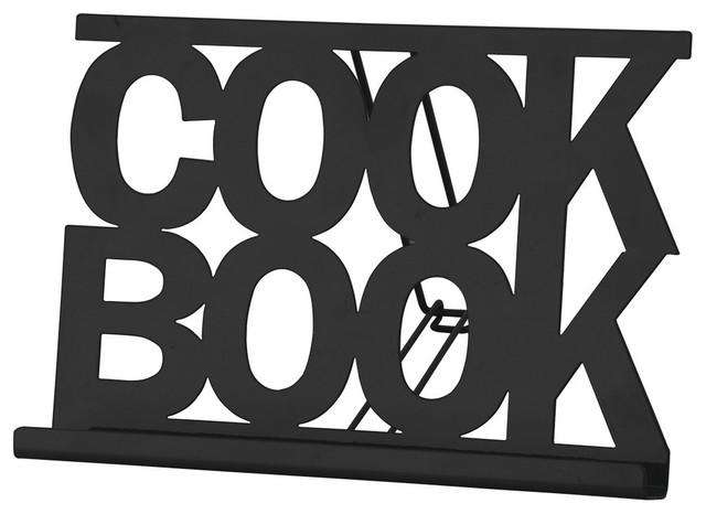 Chef Vida Cookbook Stand, Black