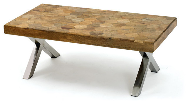 Patchwork Coffee Table Contemporary Coffee Tables