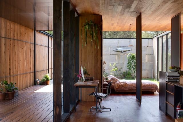 Home design - modern home design idea in Melbourne