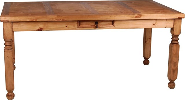 Mexico Dining Table With Extension Rustic Dining