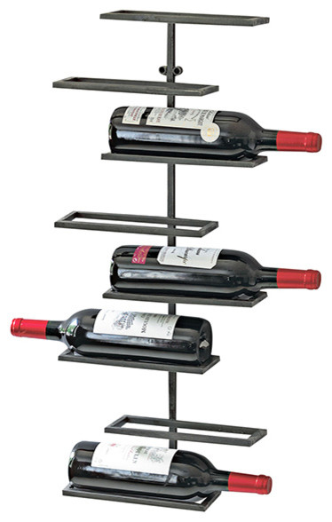 Urban Wall-Mounted Wine Rack.