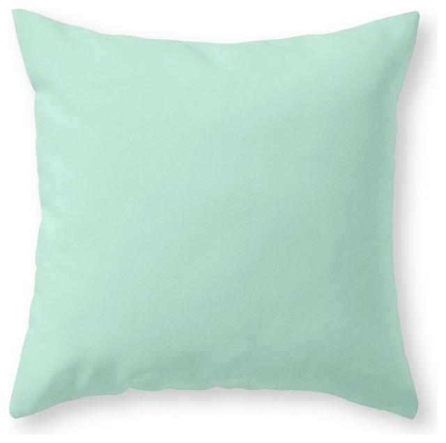 Throw Pillows In Mint Green : Society6 Mint Green Throw Pillow - Decorative Pillows Houzz