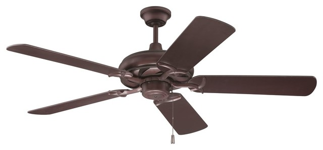 """Craftmade 52"""" Civic Ceiling Fan Kit, Oiled Bronze."""