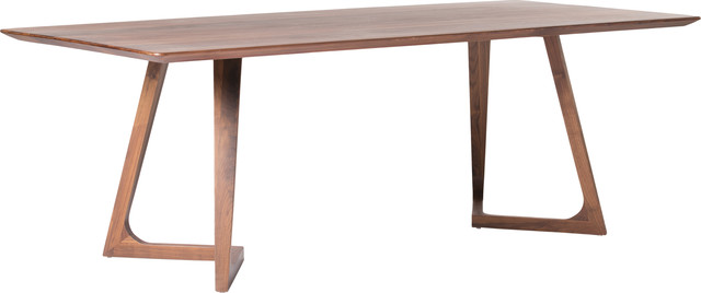 Godenza Dining Table Rectangular, Brown, Small.