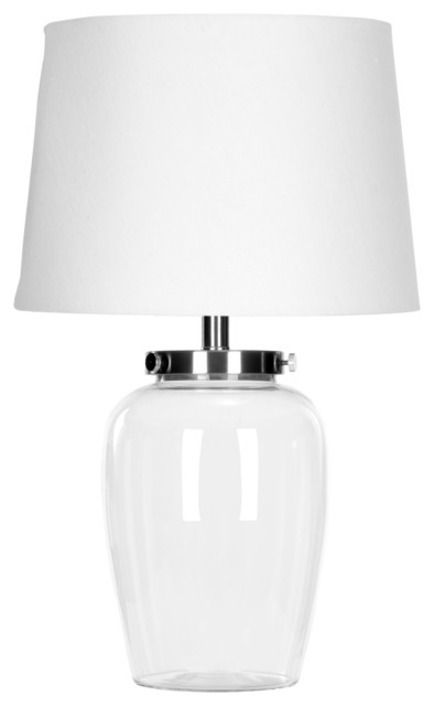 Evan Clear Glass Table Lamp Zmt-Lit4066a.