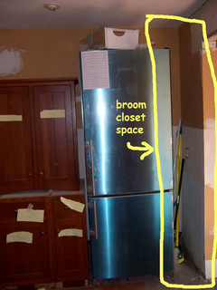 Show Me Your Kitchen Broom Closet