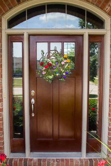 Front door and curb appeal by nearly natural inc Curb appeal doors