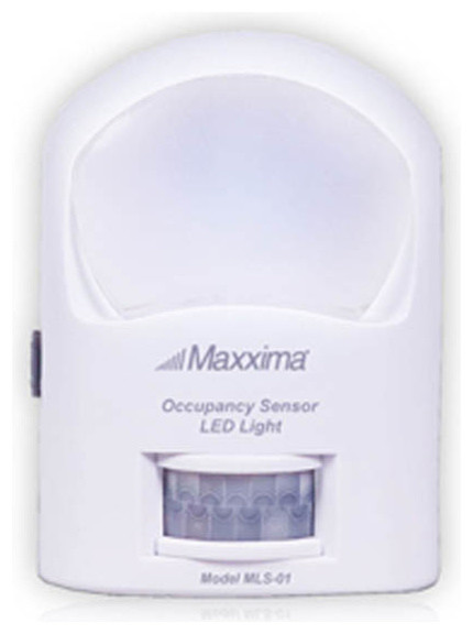 Maxxima Battery Operated Dusk to Dawn Motion Sensor LED Light - Modern - Timers And Lighting ...