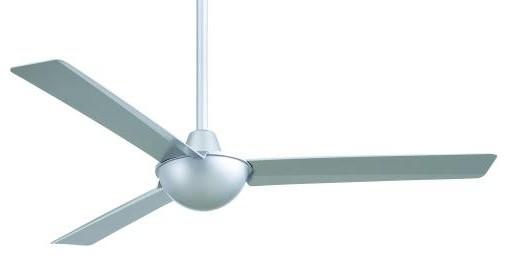 52 Kewl Ceiling Fan, Silver.