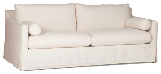 Gabby Hayes Slipcovered Sofa, Cream Zulu Vanilla.
