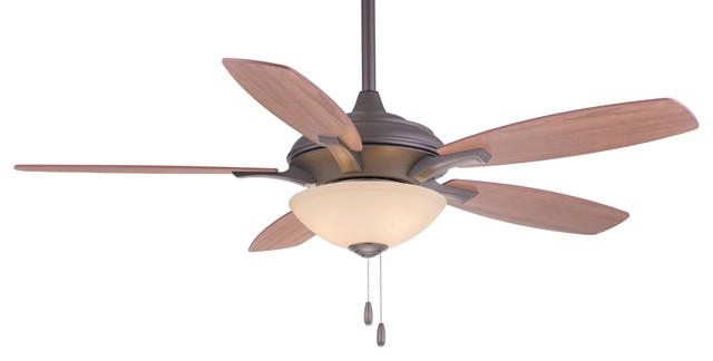 "52"" Hilo Ceiling Fan, Oil Rubbed Bronze."