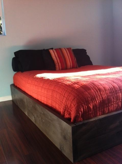 Diy platform bed contemporary bedroom other by for Diy modern platform bed