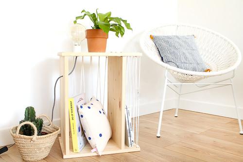 Ikea Hack Relooker Une Table De Chevet Rast