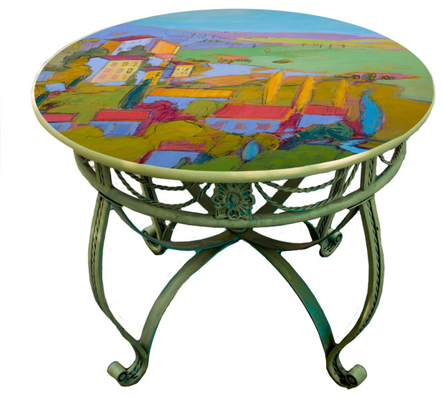 Hand Painted Table Tops Design Ideas